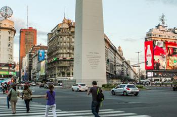 Аргентина. На улицах Буэнос-Айреса